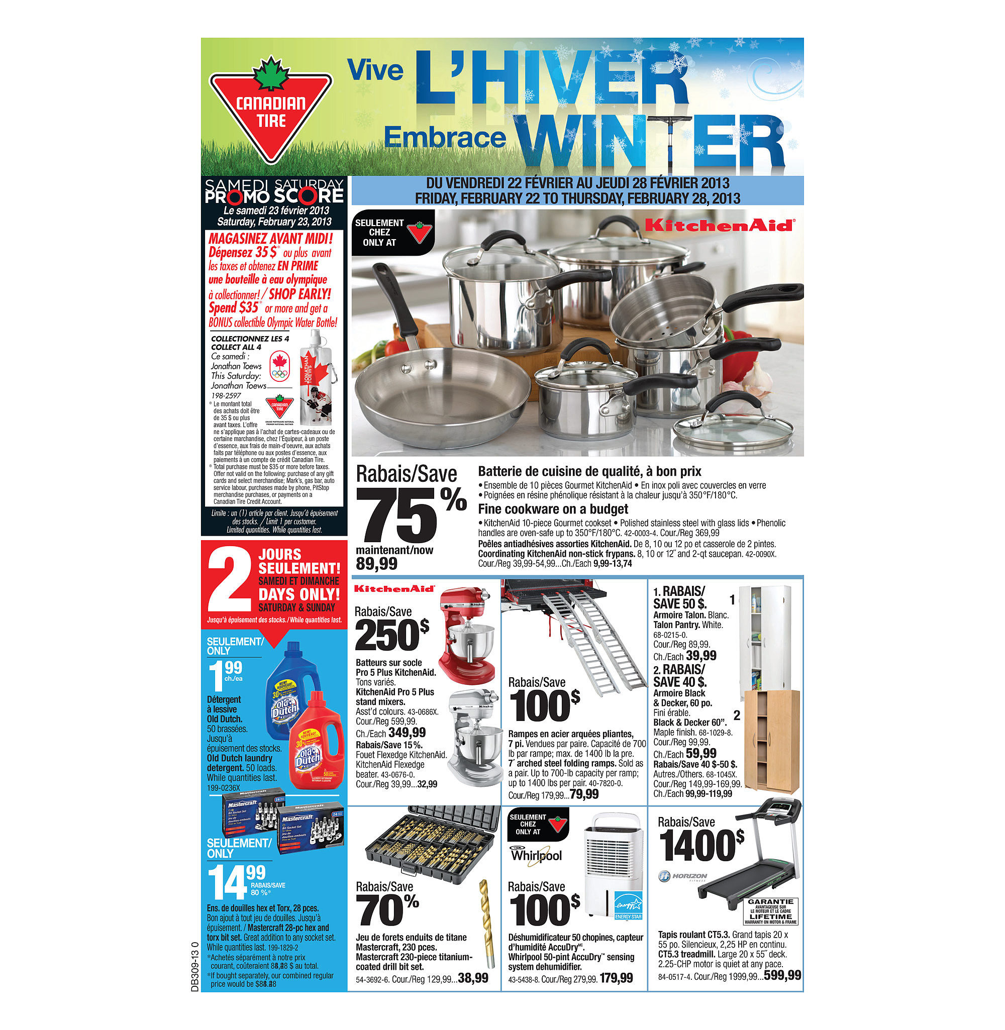 Canadian Tire Weekly Flyer Weekly Flyer Feb 21 28