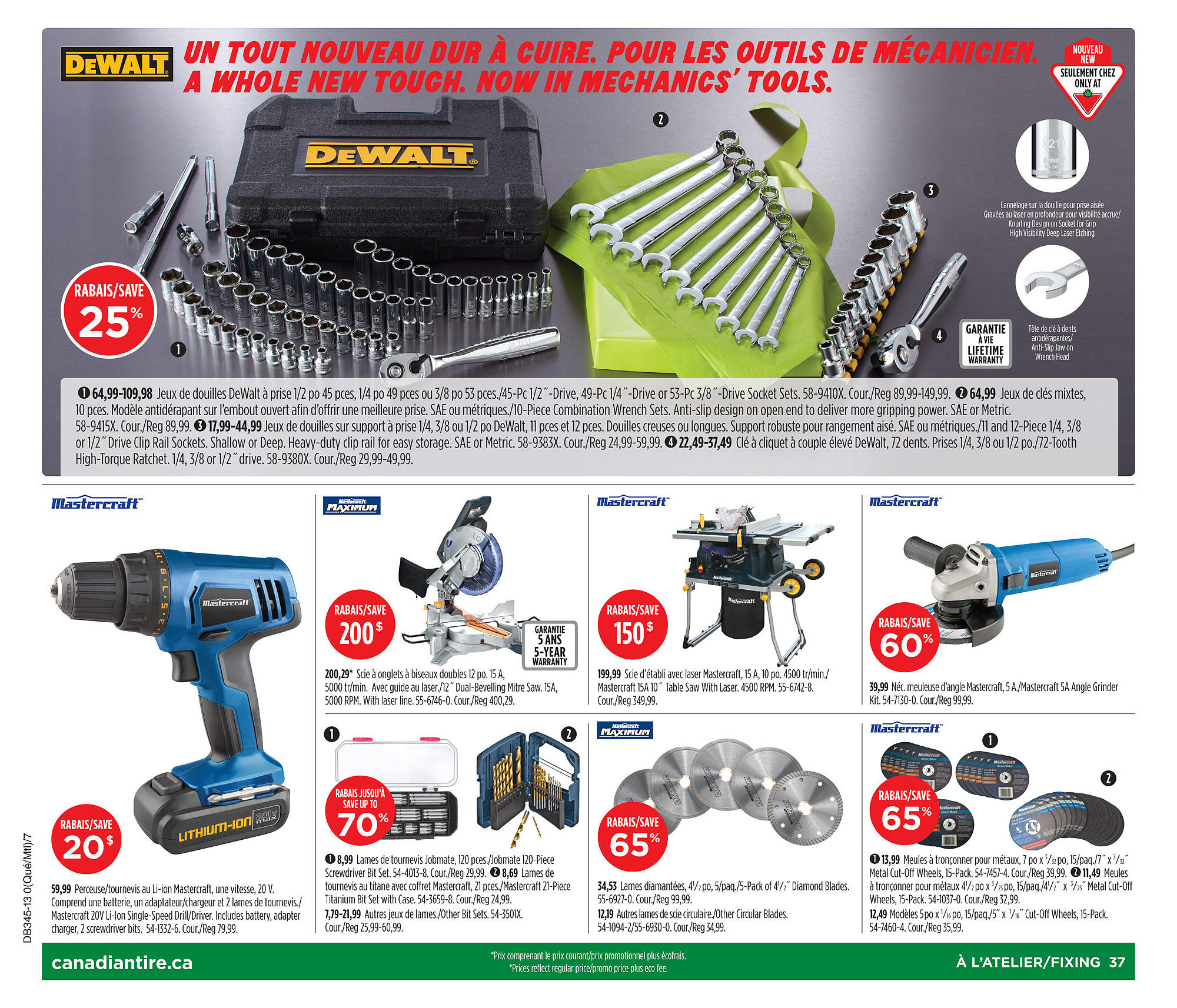 Canadian Tire Weekly Flyer Oct 31 Nov 7 Eco Tools 1332 Glow For It