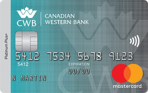 The Canadian Western Bank Platinum Plus Mastercard® Credit Card