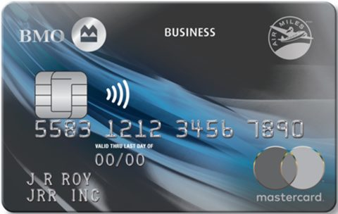 BMO® AIR MILES®† Business® Mastercard®*