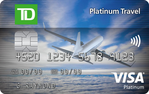 TD® Platinum Travel Visa* Card