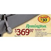 Bass Pro Shops: Remington 783™ Rifle - $369 97 - RedFlagDeals com