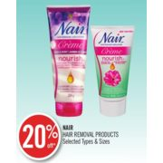 20% Off Nair Hair Removal Products