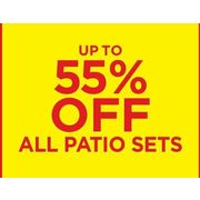 All Patio Sets - Up to 55% off