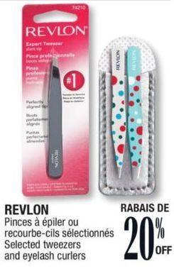 Jean Coutu: Revlon Tweezers and Eyelash Curlers - RedFlagDeals com