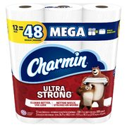 Walmart: Charmin Toilet Paper, 12 Mega or 16 Triple Rolls $9.93 (regularly $14.47)