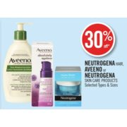 30% Off Aveeno or Neutrogena Skin Care Products