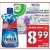 Air Wick Air Freshener or Finish Jet Dry or Woolite Detergent - $8.99 (Up to $3.00 off)