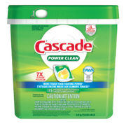 Cascade Power Clean Actionpacs Dishwasher Detergent - $15.79 ($4.20 off)