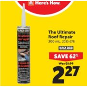 The Ultimate Roof Repair - $2.27 (62% Off)