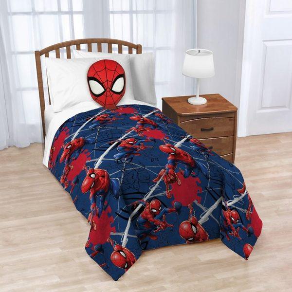 Bed Bath And Beyond Spiderman Nogginz Pillow Fleece Blanket Set