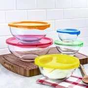 Kitchen Stuff Plus Red Hot Deals: KSP Vibe Glass Mixing Bowl Set $20, KSP Aria LED Essential Oil Diffuser $30 + More!