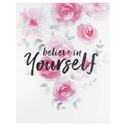 Believe In Yourself Typography Canvas - $41.99 ($18.00 Off)