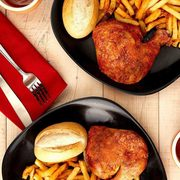Swiss Chalet Mother's Day Offers: Quarter Chicken Dinner + Brownie Cheesecake for $15 or 1/3 BBQ Ribs + Brownie Cheesecake for $22