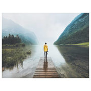 Yellow Raincoat Printed Canvas - $62.99 ($27.00 Off)