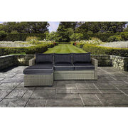 Elba 2-Piece Wicker Conversation Patio Set with Cushions - $599.99 ($400.00 off)