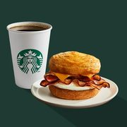 Starbucks: Get Any Breakfast Sandwich with a Tall Brewed Coffee for $4.95