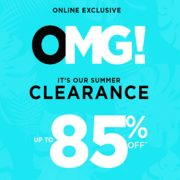 Le Chateau Outlet Summer Clearance: Up to 85% off