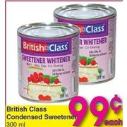British Class Condensed Sweetener - $0.99