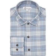 Peter Millar Men's Leavell Performance Check Flannel Woven Long Sleeve Shirt - $131.87 ($34.13 Off)