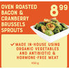 Oven Roasted Bacon & Cranberry Brussels Sprouts - $8.99