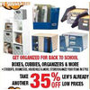 Bankers Box Boxes, Cubbies, Organizers & More - 35% off
