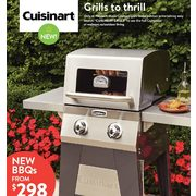 Cuisinart New BBQs  - From $298.00