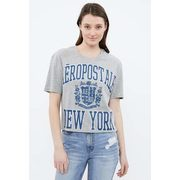 Aéropostale Crop Large Crest Logo Graphic Tee - $10.00 ($9.99 Off)