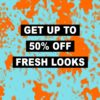 ASOS: Up to 50% off Fresh Looks