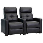Octane 2-Seat Bonded Leather Recliner Home Theatre Seating - $849.99 ($1149.00 off)